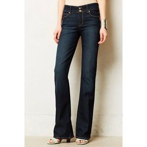 Paige Anthropologie hidden hill flare jeans